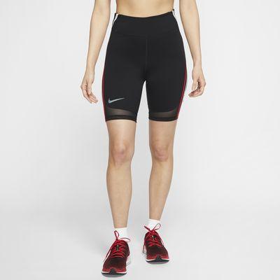 กางเกงวิ่งขาสั้นผู้หญิง Nike City Ready