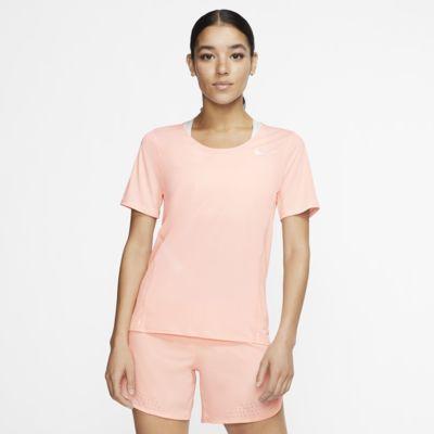 Damska koszulka z krótkim rękawem do biegania Nike City Sleek
