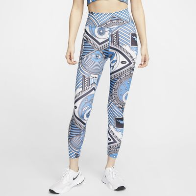 Nike One 女款九分印花緊身褲