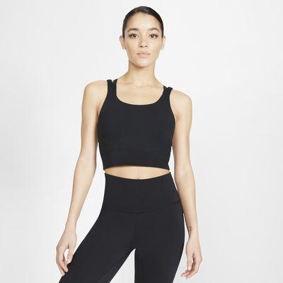 Camisola sem mangas Nike Yoga Luxe para mulher