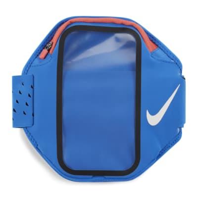 Opaska na ramię na większe smartfony z kieszonką Nike