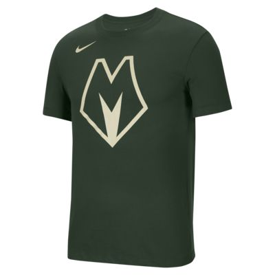 Bucks City Edition Logo Men's Nike Dri-FIT NBA T-Shirt