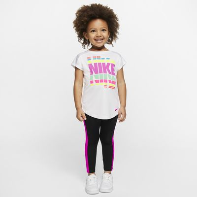 Nike Dri-FIT Toddler Tunic and Leggings Set