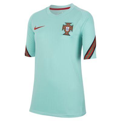 Fotbalové tričko Portugalsko Strike s krátkým rukávem pro větší děti