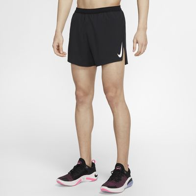 กางเกงวิ่งขาสั้น 4 นิ้วผู้ชาย Nike AeroSwift