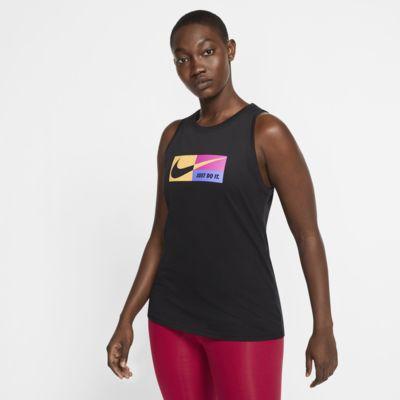 Nike Dri-FIT Icon Clash Trainings-Tanktop mit Grafik für Damen