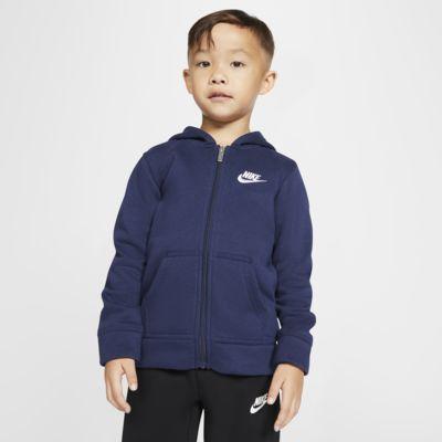 Nike Sportswear Club Fleece Little Kids' Full-Zip Hoodie