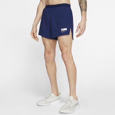Σορτς για τρέξιμο Nike AeroSwift Blue Ribbon Sports 11 cm