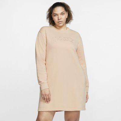 Nike Sportswear Vestido de tejido French Terry (Talla grande) - Mujer