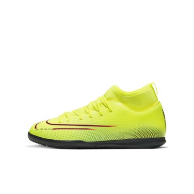 Nike Jr. Mercurial Superfly 7 Club MDS IC Little/Big Kids' Indoor/Court Soccer Shoe