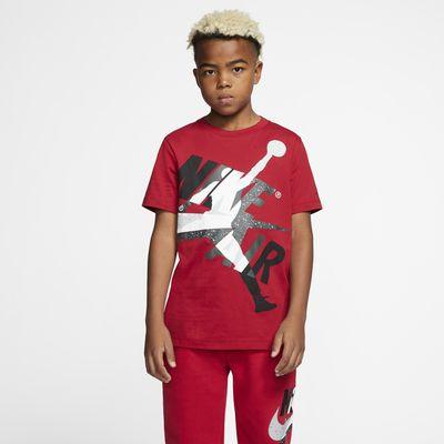 大男孩t恤短袖_Jordan Jumpman Classics 大童(男孩)短袖T恤-耐克(Nike)中国官网