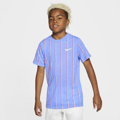 Playera de tenis para niño talla grande NikeCourt Dri-FIT