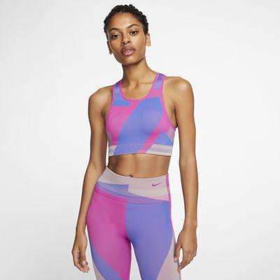 Nike Icon Clash nahtloser Sport-BH mit leichtem Halt für Damen
