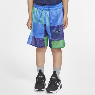 Shorts reversibles para niños talla pequeña Nike Dri-FIT Elite