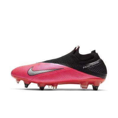 Nike Phantom Vision 2 Elite Dynamic Fit SG-PRO Anti-Clog Traction Fußballschuh für weichen Rasen