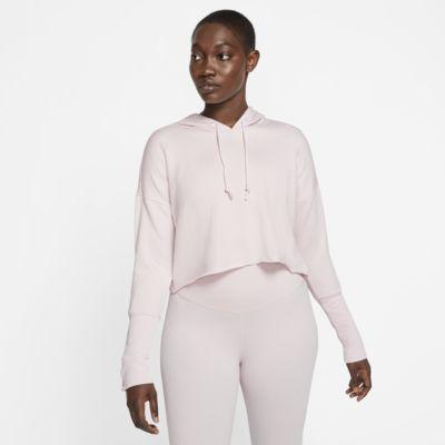 Nike Yoga Luxe Dessuadora amb caputxa de tres quarts - Dona