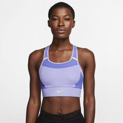 Nike Swoosh Women's Medium-Support 1-Piece Pad Pocket Sports Bra