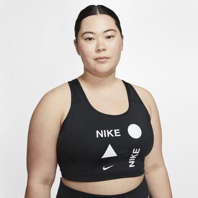 Brassière de sport à maintien normal Nike Swoosh Icon Clash pour Femme (grande taille)
