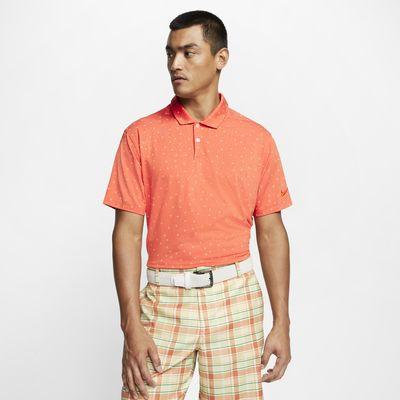 Nike Dri-FIT Vapor-golfpolo med print til mænd
