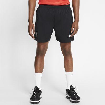 Vævede Nike F.C.-fodboldshorts til mænd