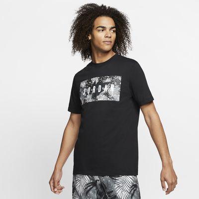 T-shirt w kwiaty Jordan Poolside