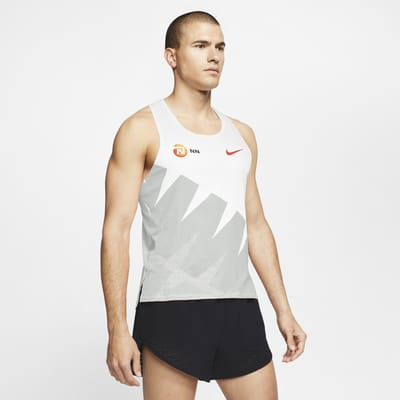 Camisola de running sem mangas Nike AeroSwift NN para homem