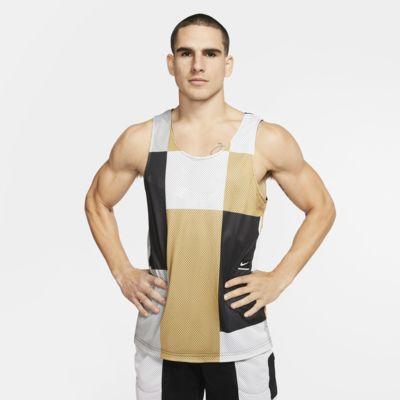 Camiseta de tirantes de entrenamiento reversible para hombre Nike