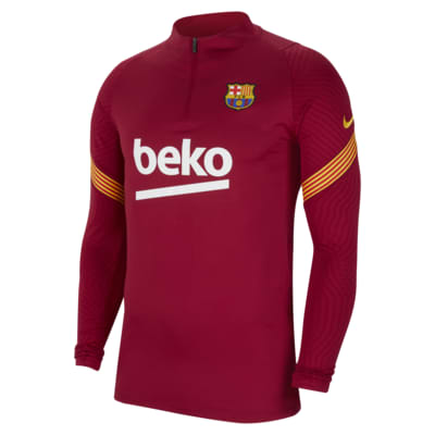 F.C. Barcelona Strike Men's Football Drill Top