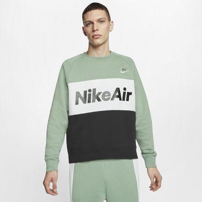 Maglia a girocollo in fleece Nike Air Uomo