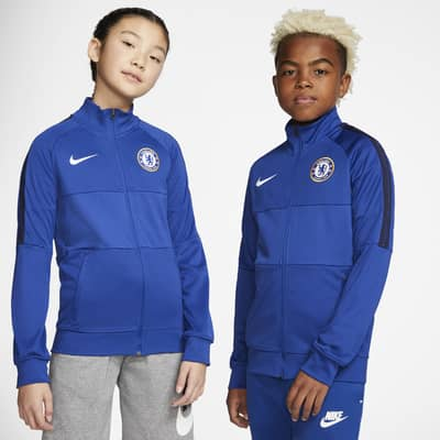 Chelsea FC Fußball-Track-Jacket für ältere Kinder