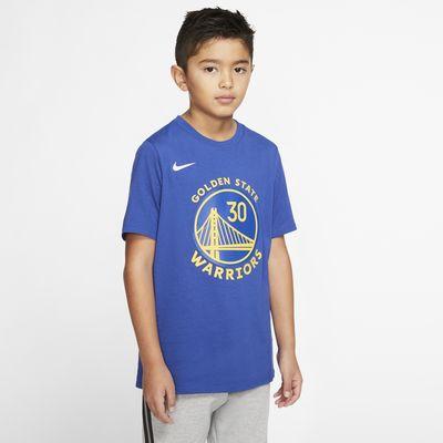 Tričko Nike Dri-FIT NBA Stephen Curry Warriors City Edition pro větší děti