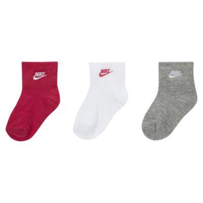 Calcetines de agarre infantiles Nike (3 pares)