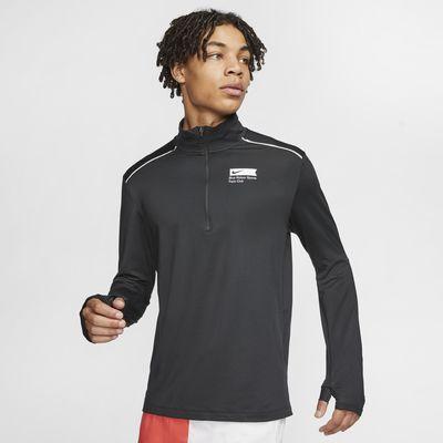 Nike Blue Ribbon Sports Men's 1/2-Zip Running Top