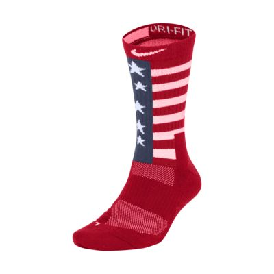 Nike USA Elite Basketball Crew Socks