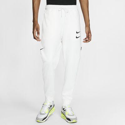 Pánské kalhoty Nike Sportswear Swoosh z francouzského froté