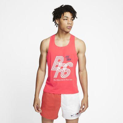 Camiseta sin mangas de running Nike AeroSwift Blue Ribbon Sports