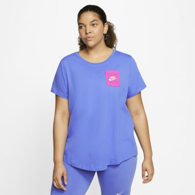 Nike Sportswear Icon Clash 女款 T 恤 (加大尺寸)