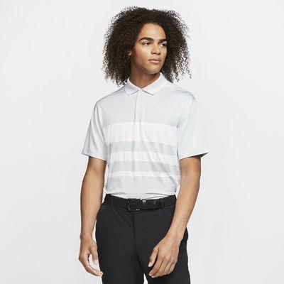 Męska koszulka polo do golfa w paski Nike Dri-FIT Vapor