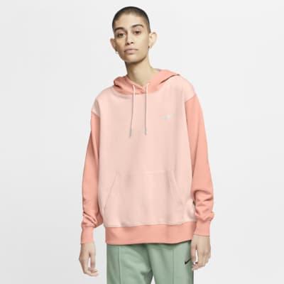 Felpa pullover con cappuccio e Swoosh Nike Sportswear - Donna