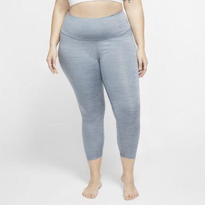 Nike Yoga Women's 7/8 Ruched Leggings (Plus Size)