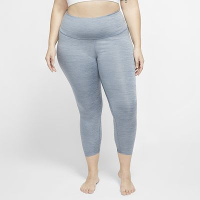Nike Yoga Women's 7/8 Ruched Leggings (Plus Size)