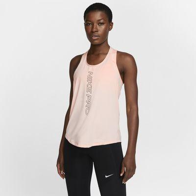 Nike Pro Dri-FIT singlet med grafikk til dame