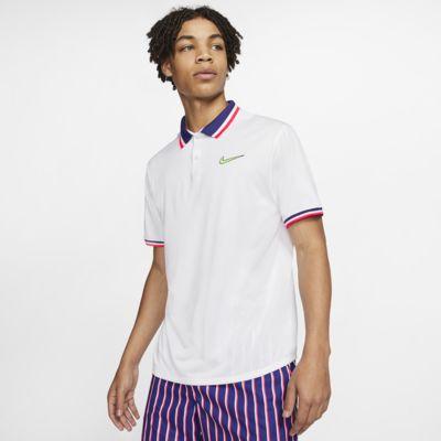 เสื้อโปโลเทนนิสผู้ชาย NikeCourt Slam