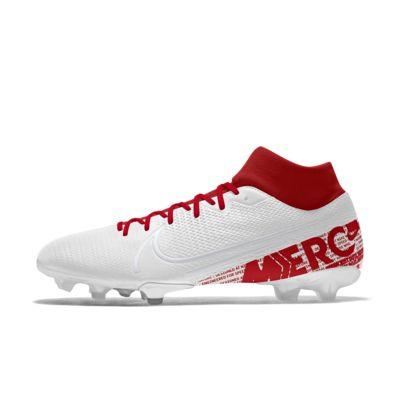 Chaussure de football à crampons pour terrain sec personnalisable Nike Mercurial Superfly 7 Academy FG By You