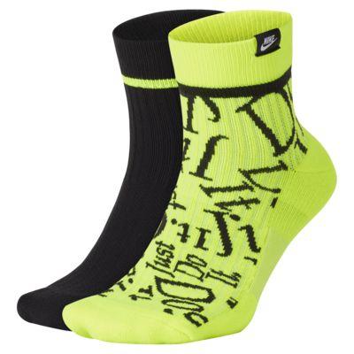 Socquettes Nike SNEAKR Sox JDI (2 paires)