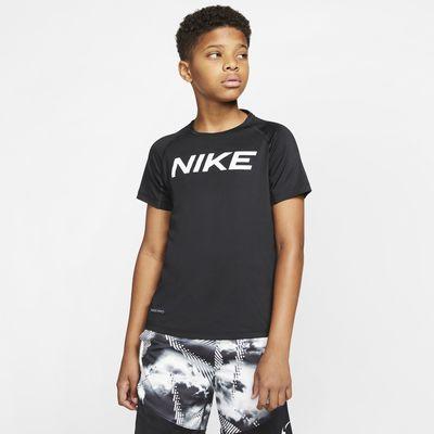 Nike Pro Older Kids' (Boys') Short-Sleeve Training Top