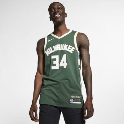 Giannis Antetokounmpo Bucks Icon Edition Nike NBA Authentic Jersey