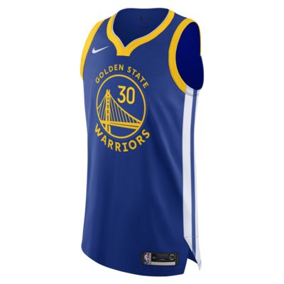 Stephen Curry Warriors Icon Edition Nike NBA Authentic Jersey