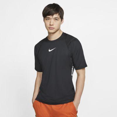 Nike Pro Cool T Shirt ajusté à Manches Courtes pour Homme