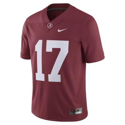 Camiseta de fútbol americano para hombre Nike College Dri-FIT Game (Alabama)